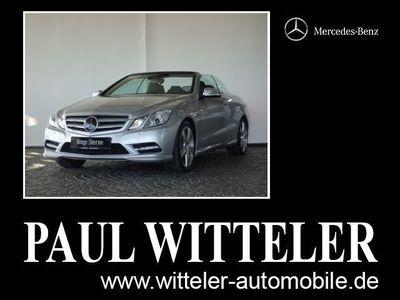 gebraucht Mercedes E500 Cabriolet Comand/Distronic/ILS/Airscarf/LM