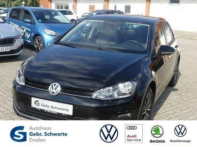 gebraucht VW Golf VII 1.2 TSI Klimaautomatik Sitzheizung Einp