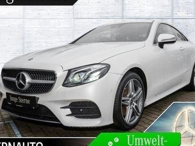 gebraucht Mercedes E200 AMG Coupe Memory RÃCam Totwinkel Navi