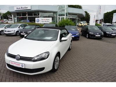gebraucht VW Golf Cabriolet VI 1,6 TDI, Sitzh., Park Pilot