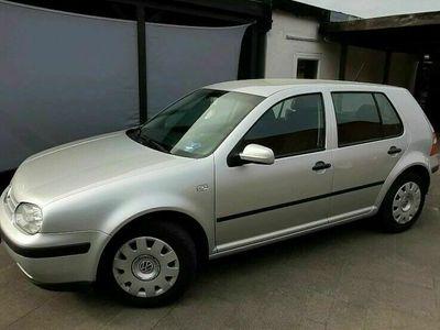gebraucht VW Golf IV Auto Ocean Silber 5 türig Limousine