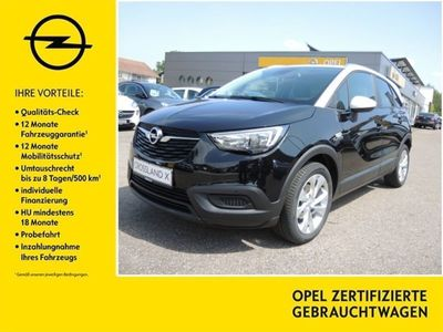gebraucht Opel Crossland X 1.2 Edition*17ŽŽPDC*DAB*Sitzheizung