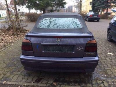 "gebraucht VW Golf Cabriolet 3 2.0 ""Neu TÜV"""