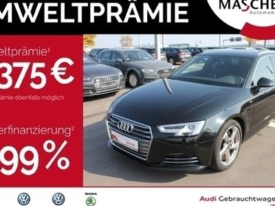 gebraucht Audi A4 Avant S line 3.0 TDI LED Leder PDC Navi LED Spo