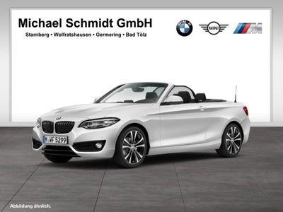 gebraucht BMW 218 i Sport Line Leasing 199,- m. Anz.