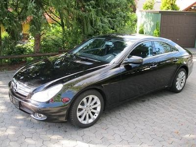 gebraucht Mercedes CLS320 CDI 7G-TRONIC DPF + Vollleder