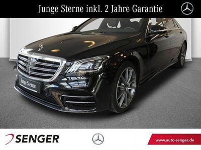 gebraucht Mercedes S400 d 4M Lang AMG Line Panorama Standheizung