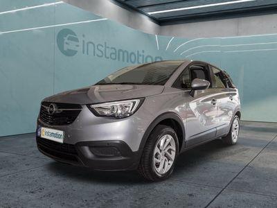 gebraucht Opel Crossland X Crossland XEdition 1.2 Turbo Navi-Link Tempomat Klima+SHZ Alu+Allwetterreifen PDCvo+hi Bluetooth