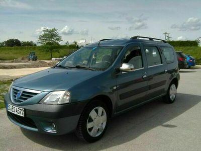 gebraucht Dacia Logan MCV 1.6 Laureate 7-Sitzer mit LPG-Autogas