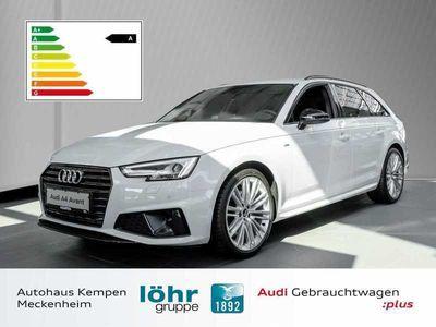 gebraucht Audi A4 Avant 40 TFSI S tronic sport S line 19 Zoll