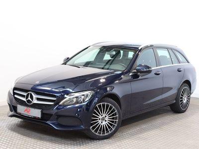 gebraucht Mercedes C250 d T 9G 4M AMG COMAND,LED,1.HAND,SCHECKHEFT