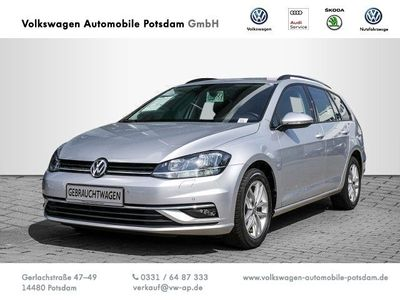gebraucht VW Golf VII Variant Comfortline VII 1.6 TDI EURO6 Navi ACC Buetooth Sitzheiz Klimaauto