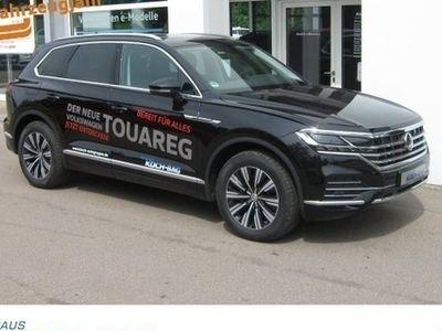 """gebraucht VW Touareg Elegance Navi Car-Net AHK Panorama Std-Hz LM 19"""""""