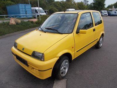 gebraucht Fiat Cinquecento 1,1 Sporting Sammlungsauflösung