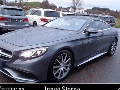 gebraucht Mercedes S63 AMG AMG4MATIC Coupé Sitzklima+Nachtsicht