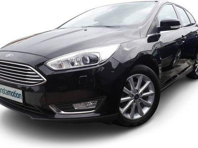 gebraucht Ford Focus Focus1.5 TDCi Titanium StartStopp Navi Klima