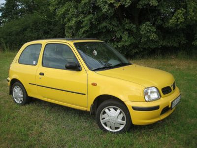 used Nissan Micra K11