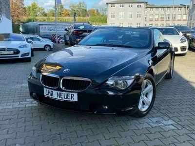 gebraucht BMW 630 Cabriolet i ACC/AUTOMATIK/Head-UP/Navi Professio
