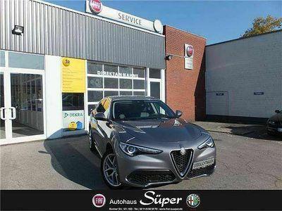 gebraucht Alfa Romeo Stelvio 2.0 Turbo 16V AT8-Q4 First Edition Navi Xenon