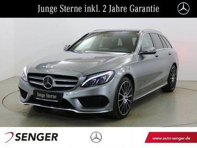 gebraucht Mercedes C220 T d AMG Line Panorama Comand LED-ILS Shzg.