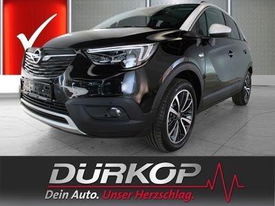 gebraucht Opel Crossland X 120 Jahre EU6d-T LED Navi Parklenkass. Rückfahrkam. Fernlichtass.