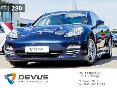 used Porsche Panamera 4S 4.8 PCM PASM PDC Bi-Xenon Tempomat Navi e-Sitze Allrad El. Heckklappe