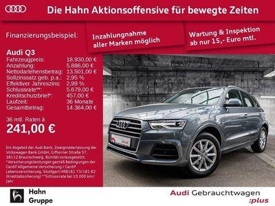 gebraucht Audi Q3 1.4TFSI Sport S-trc GRA Navi AHK-Vorb