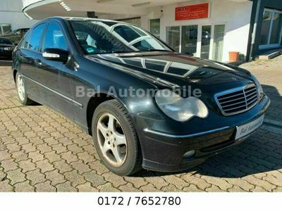 gebraucht Mercedes C220 C -Klasse Lim.CDI Avantgarde Automatik Kl