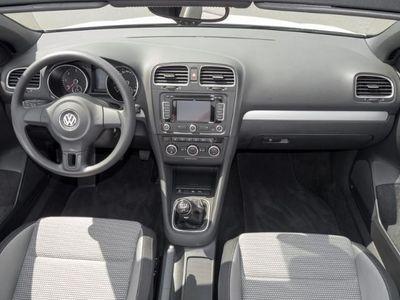gebraucht VW Golf Cabriolet VI 1.6 TDI Navi Sportsitze Sitzheizung