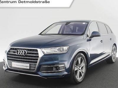 "gebraucht Audi Q7 3.0 TDI qu. 7-Sitzer Assistenz Standhz. Pano BOSE AHK 20"" Leder Navi tiptronic"