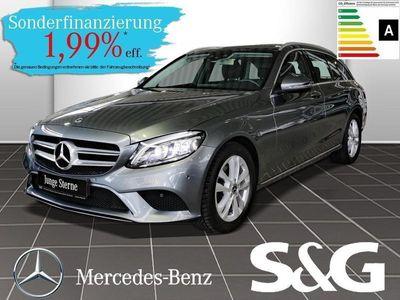 gebraucht Mercedes C220 d T AVANTGARDE RüKa/PanoDach/Tempomat/Navi