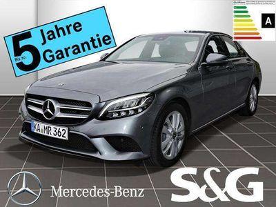 gebraucht Mercedes C220 d AVANTGARDE COMAND/Schiebed/AHK/LED/Rückf