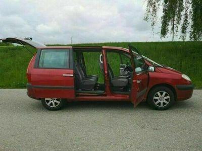 gebraucht Citroën C8 7 Sitzer oder Camper:2.0 16V SX