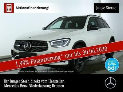 gebraucht Mercedes GLC300 4M AMG Pano Distr. LED Night Kamera 9G