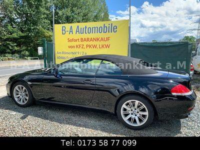 gebraucht BMW 645 Cabriolet Baureihe 6 645 CI*SMG*2.Hand* Service