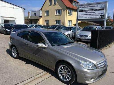 gebraucht Mercedes CLC180 Parktronic LM-Felgen Spiegelpaket 2.Hand