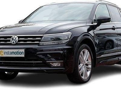 gebraucht VW Tiguan Tiguan2.0 TDI DSG 4M R-line LM20 Pano Leder Dynaudio