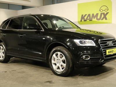 usata Audi Q5 2.0 TDI quattro S-tronic S line +Bi-Xenon +Navi +Leder