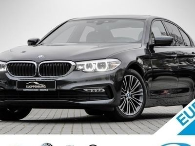 second-hand BMW 520 d xDrive Limousine Sport Line Head-Up HiFi