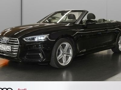 gebraucht Audi A5 Cabriolet 40 TFSI sport S tronic S line Navi LED
