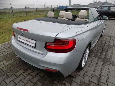 gebraucht BMW 220 d Cabrio Aut M Sport Xenon Navi HiFi PDC