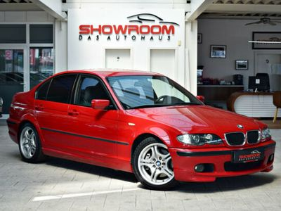 gebraucht BMW 330 i + Imolarot + M-Sportpaket + Aut. + wie NEU.