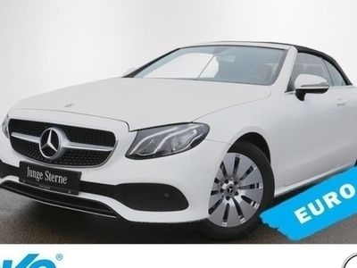 gebraucht Mercedes E220 Cabrio Avantgarde*LED*Navi*Parkassistent