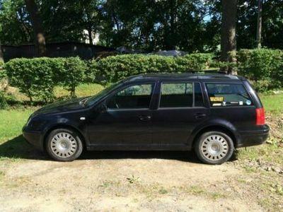 gebraucht VW Bora Variant schwarz metallic