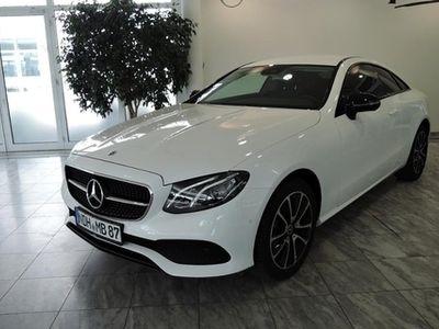 gebraucht Mercedes E200 Coupé Night-Paket/9G/LED/Navigation