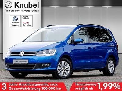 gebraucht VW Sharan Comfortline 2.0 TDI DSG Navi Klima 7-Si.
