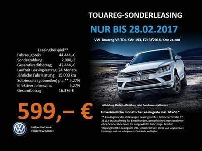 gebraucht VW Touareg V6 TDI LUFT NAVI LEDER DESIGN AHK XENON