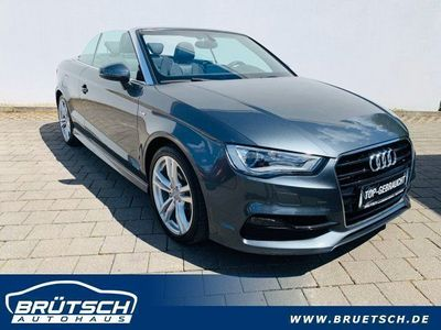 gebraucht Audi A3 Cabriolet A3 Cabriolet 1.4 TFSi S line Sportpaket