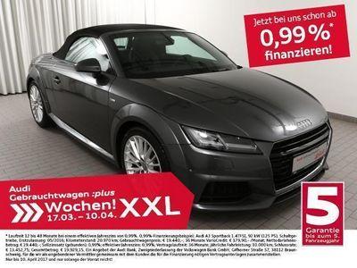 gebraucht Audi TT Roadster 2.0TDI 3x S line/NAV+/LED (Navi Xenon Ein