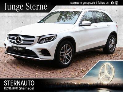 gebraucht Mercedes GLC250 4M AMG KEYLESS-GO